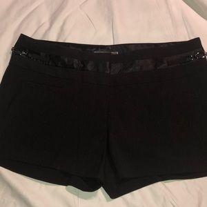 New Black Guess dress shorts size 30.